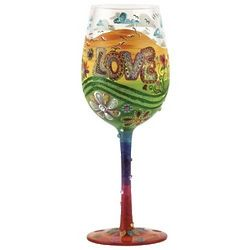 Hippie Wine Glass