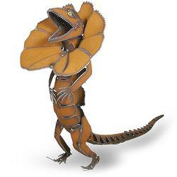 Metal Lizard Garden Sculpture