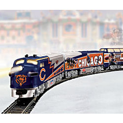 Chicago Bears Express Illuminated Electric Train