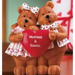 Bear Couple Figurine