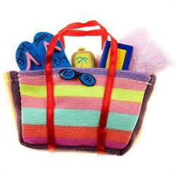 Personalized Beach Bag Ornament