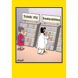 Thankya Elvis Greeting Card