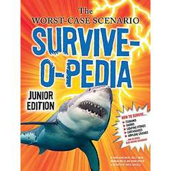 Junior Survive-O-Pedia Hardcover Book