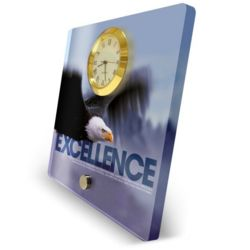 Excellence Eagle Desktop Clock
