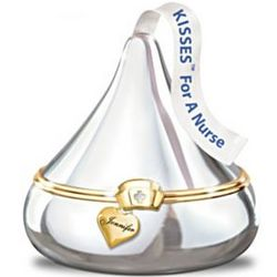 Nurse's Engraved Hershey's Kisses Music Box