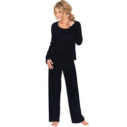 Black Velour Pajamas