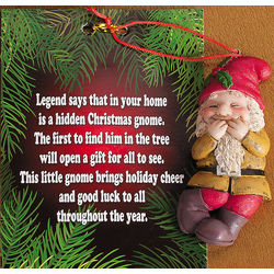 Gnome Ornaments with Card