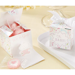 Gender Reveal Baby Shower Favor Boxes