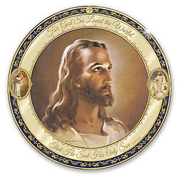 For God So Loved the World Porcelain Collector Plate