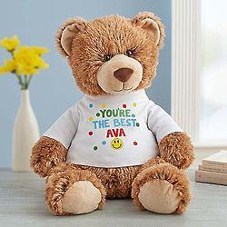 Tommy Teddy Sending Smiles Stuffed Animal
