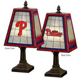 Philadelphia Phillies Glass Table Lamp