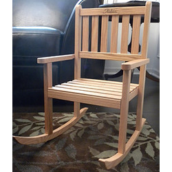 Personalized Children's Rocking Chair