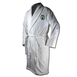 Boston Celtics Terrycloth Logo Bathrobe