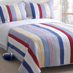 Prairie Stripe Quilt Set Full