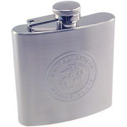 Personalized USMC Stainless Steel Flask