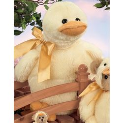 Personalized Cuddly Ducky