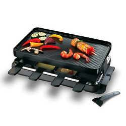 8 Person Classic Raclette Party Grill
