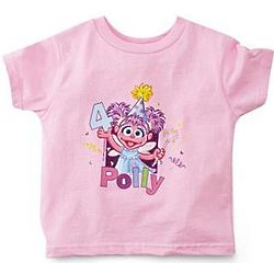 Personalized Abby Cadabby Birthday Shirt