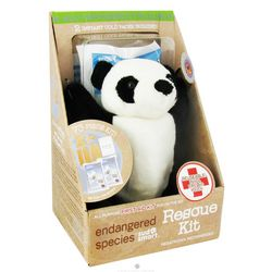 Giant Panda Endangered Species First Aid Rescue Kit