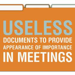 Useless/Nothing/Nosy File Folders