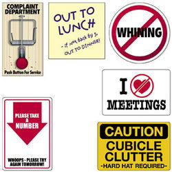 Office Humor Cubicle Signs