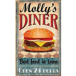 Personalized Vintage Metal Sign