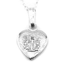 Small Heart Chalice Pendant