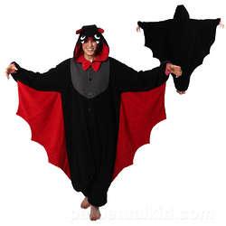 Bat Kigurumi Hooded Loungewear