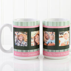 Large Personalized Picture Coffee Mugs for Her