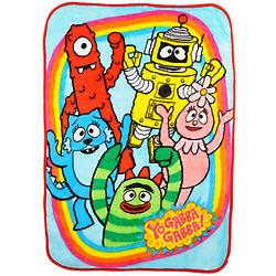 Yo Gabba Gabba Friends Rock! Blanket