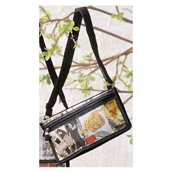 Recycled Newspaper or Magazine Crossbody Clutch