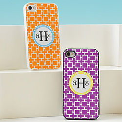 Personalized Geometric Pattern iPhone Case