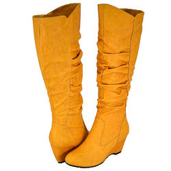 Women's Mustard Fashion Boots