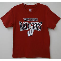 Wisconsin Badgers Youth X-Ray T-Shirt