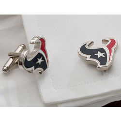Houston Texans Team Logo Cuff Links