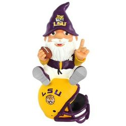 LSU Tigers Gnome on Team Logo Helmet