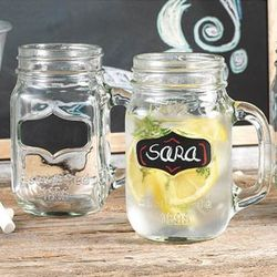 Chalk Label Mason Jars
