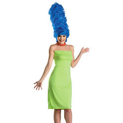 Women's Deluxe The Simpsons Marge Costume