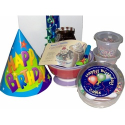 Happy Birthday Cake and Ice Cream Gift Set