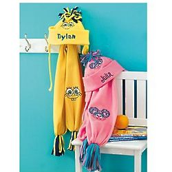 Personalized Sesame Street / Nickelodeon Hat and Scarf