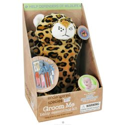 Wild Cat Endangered Species Groom Me Baby Essentials Kit