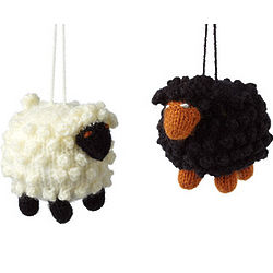 Black Sheep vs. White Sheep Ornaments