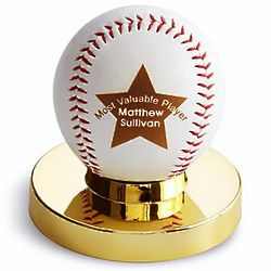 Personalized Star Baseball