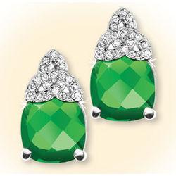 Glowing Trinity Knot Earrings