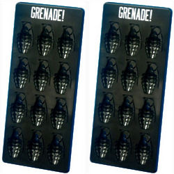 Grenade Ice Cube Trays