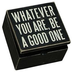 Whatever You Are Box