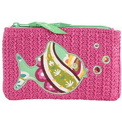 Seashore Zip Pouch Wallet