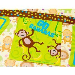 Monkeyin' Around Birthday Banner