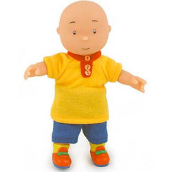 Caillou Doll in Play Clothes