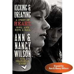 Heart - Kicking and Dreams Signed Book
